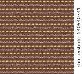 seamless vector pattern. brown... | Shutterstock .eps vector #540940741