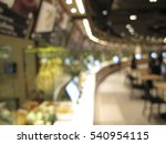 food court and canteen interior ... | Shutterstock . vector #540954115