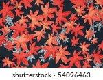 oriental silk fabric pattern  ... | Shutterstock . vector #54096463