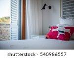 komiza  vis   croatia   aug 15  ... | Shutterstock . vector #540986557