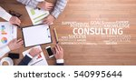 business concept  consulting...   Shutterstock . vector #540995644
