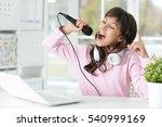 Girl Singing Songs