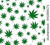 abstract cannabis seamless... | Shutterstock .eps vector #541000171
