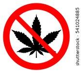 no marijuana  no drugs....   Shutterstock .eps vector #541024885