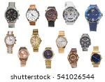set of of wristwatches isolated ... | Shutterstock . vector #541026544
