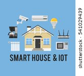 smart house and internet of... | Shutterstock .eps vector #541029439