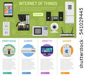 smart house and internet of... | Shutterstock .eps vector #541029445