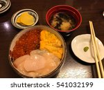 Japanese Food For Salmon Roe...