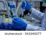 modern scientist working in... | Shutterstock . vector #541040377