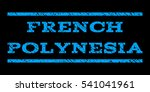 french polynesia watermark... | Shutterstock . vector #541041961