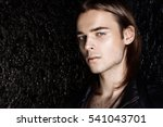 fashion shot. handsome sexual... | Shutterstock . vector #541043701
