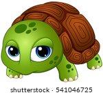 vector illustration of cute... | Shutterstock .eps vector #541046725
