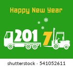 happy new year greeting card  ...