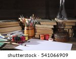 Acrylic Paints  Easel  Artist...