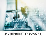 scientist are certain...   Shutterstock . vector #541093345