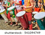 Stock photo the unidentified samba musician participates at the annual samba festival 541094749