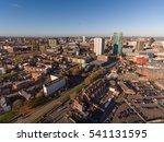 aerial view of birmingham city... | Shutterstock . vector #541131595