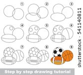 funny drawing kid school  the... | Shutterstock .eps vector #541140811