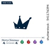 crown   vector icon | Shutterstock .eps vector #541176394