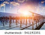 solar energy | Shutterstock . vector #541192351