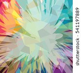 abstract colorful triangle...   Shutterstock . vector #541197889