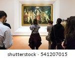 florence  italy   november 5 ... | Shutterstock . vector #541207015