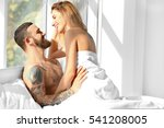 Passionate Beautiful Couple In...