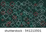 abstract squares vector pattern ... | Shutterstock .eps vector #541213501