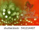 colorful christmas background... | Shutterstock . vector #541214407
