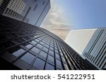 downtown office building on a... | Shutterstock . vector #541222951