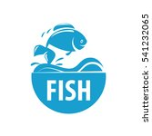 Fresh Fish Vector Design Logo...
