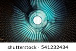bottom in side view of stack... | Shutterstock . vector #541232434