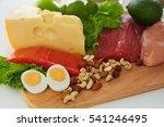 Healthy Foods. Closeup Of...