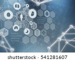 innovative technologies in...   Shutterstock . vector #541281607