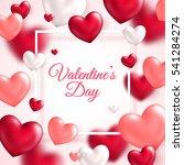 valentine's day concept. vector ...   Shutterstock .eps vector #541284274