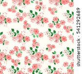 simple cute pattern in small... | Shutterstock . vector #541292689