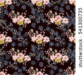 seamless cute pattern of small... | Shutterstock . vector #541300735