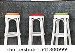 rattan stool chair   Shutterstock . vector #541300999