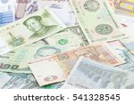 money from different countries. ... | Shutterstock . vector #541328545