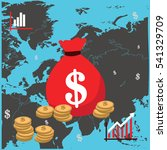 marketing money   Shutterstock .eps vector #541329709