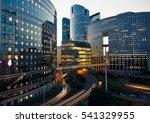 night architecture  ... | Shutterstock . vector #541329955