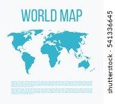 vector illustration of a world... | Shutterstock .eps vector #541336645