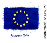 symbol  poster  banner ... | Shutterstock .eps vector #541342297