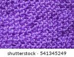 Violet Knitted Background