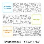 line design concept for... | Shutterstock .eps vector #541347769