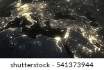 The Earth From Space At Night...