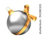 3d illustration of silver... | Shutterstock . vector #541382101