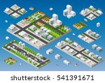 cityscape design elements with... | Shutterstock .eps vector #541391671