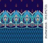 seamless vector dark background.... | Shutterstock .eps vector #541392721