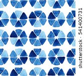 watercolor seamless pattern... | Shutterstock . vector #541400731